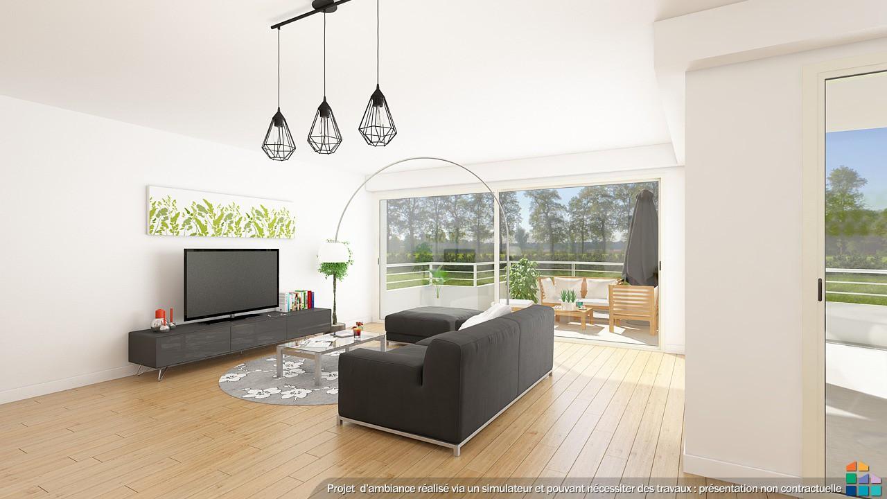 Simulateur d appartement vlo schwinn u with simulateur d for Simulation deco chambre